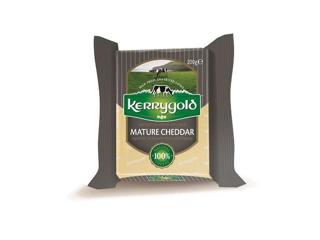 Branza maturata Cheddar 200 g Kerrygold