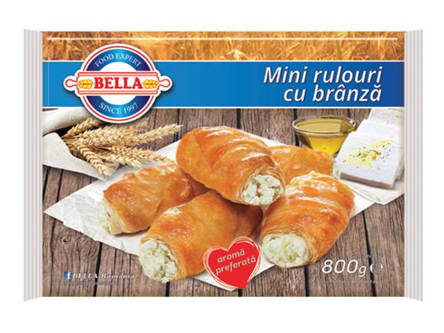 Mini rulouri cu branza 800g Bella