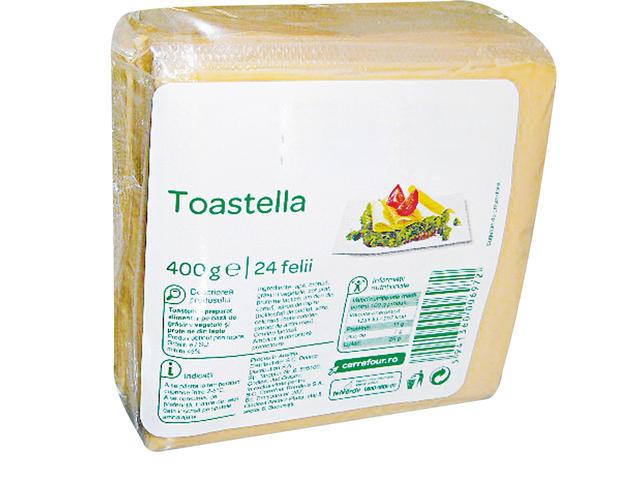 Branza topita feliata Toastella 400 g Carrefour