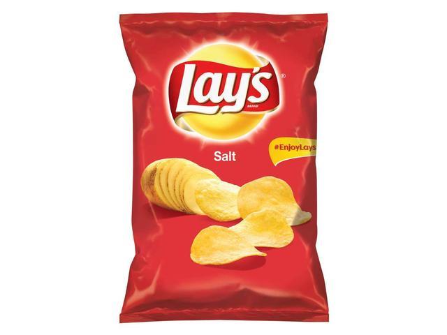 Chipsuri cu sare Lay's 215g