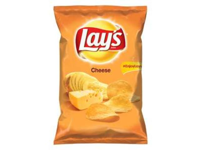 Lay's Cheese, chipsuri din cartofi cu gust de cascaval, 215 gr.