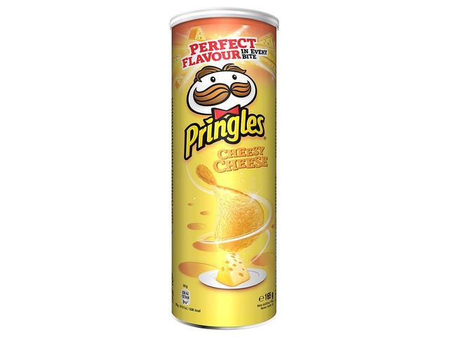Chips cu aroma de branza 165 g Pringles