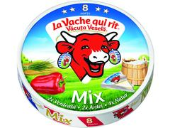 Branza topita mix 120 g Vacuta Vesela