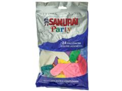 Baloane colorate 24 buc. Samura'I Party