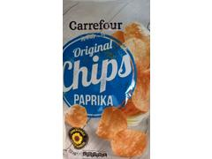 Chips Cu Aroma Paprica 250 g Carrefour