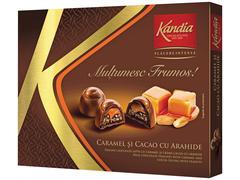Praline de ciocolata umplute cu crema irish 104.5 g Kandia