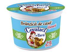 Branza de casa usoara 2% grasime Covalact de Tara 180 g