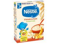 """""""Cereale Nestlé® 8 Cereale cu Fructe, 250g, de la 12 luni  """""""