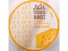 Branza topita cu cascaval Carrefour 140 g