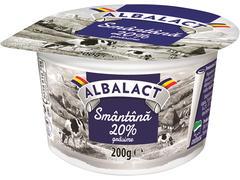 Smantana 20% grasime  Albalact 200 g