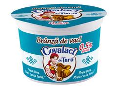 Branza slaba proaspata de vaca 200 g Covalact de Tara