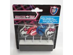 Set 4 lumanari figurine Monster High