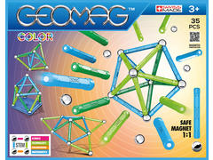 Magnetic construction glow 30 pcs. Geomag
