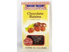 Stafide invelite in ciocolata 80 g Americana