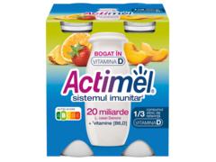 Actimel Iaurt de Baut Multifruct 4x100g