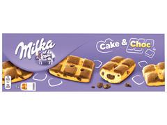 Prajitura cu bucatele de ciocolata Cake & Choc 175 g Milka