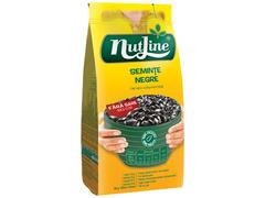 Seminte floarea soarelui negre fara sare 200 g Nutline