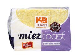 Toast fara coaja alb 300 gr Karamolegos Bakery