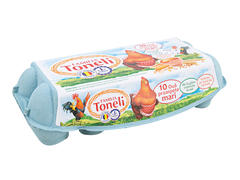 Oua proaspete L ( 63 - 73 g ) 10 bucati Familia Toneli
