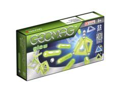 Magnetic construction glow 22 pcs. Geomag