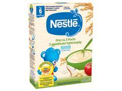 """""""Cereale Nestlé® Orez cu 3 fructe 250g, de la 6 luni  """""""