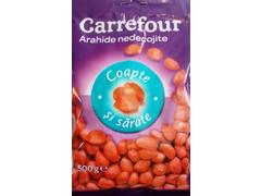 Arahide coapte si sarate Carrefour 500 g