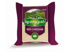Branza Cheddar rosie 200 g Kerrygold