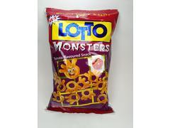 Snack din porumb cu gust de rosie Lotto Monsters 75g