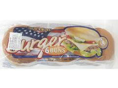 Chifle pentru hamburger Quickbury 6 buc 300g