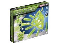 Magnetic construction glow 40 pcs. Geomag