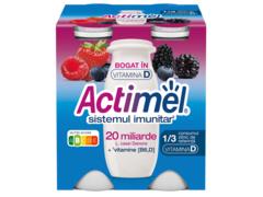 Actimel Iaurt de Baut Fructe de Padure 4X100g