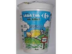Iaurt de baut 2% grasime 375 g Carrefour