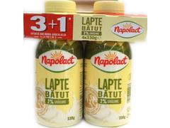 LAPTE BATUT 2%4X330G3+1GR NAP