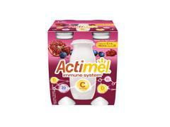 Actimel Iaurt de Baut Rodie/Afine/Vitamina C, 4x100g