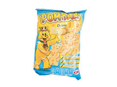 Snack din cartofi expandat si prajit cu gust de cascaval Pom-Bar 40 g
