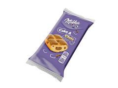 Prajitura cu bucatele de ciocolata si crema de ciocolata 35 g Milka