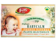 Ceai din plante medicinale BabyCalm 20 g Fares