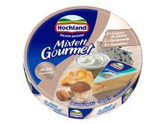 Branza topita triunghiuri Mixtett Gourmet 140g Hochland