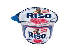 Desert de orez cu lapte si zmeura Riso 200 g Muller