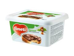 Crema de cacao, alune padure si lapte 600 g Fineti