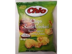 Chipsuri smantana & ceapa Kettle 80 g Chio