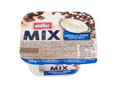 Mix Iaurt Vanilie Cioco Bilute Muller 130g