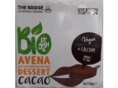 Desert bio din ovaz cu cacao 4 x 110 g The Bridge