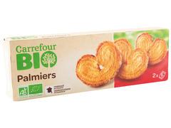 Biscuiti palmier BIO 100 g Carrefour
