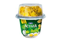 Iaurt clasic cu fulgi de cereale Mic Dejun Activia 3.3 % grasime 168 g Danone