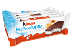 Desert felie de lapte Kinder 5 x 28 g