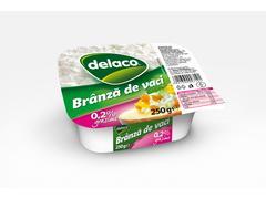 Branza de vaci dietetica 250 g Delaco