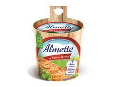 Crema de branza proaspata cu rosii si busuioc Almette 150g