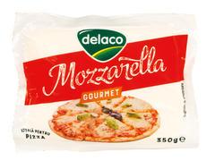 Mozzarella gourmet 350 g Delaco