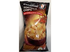 Chips cu gust de chili Carrefour 200 g